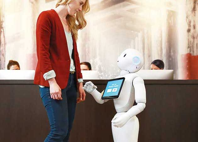 hospitality-robot